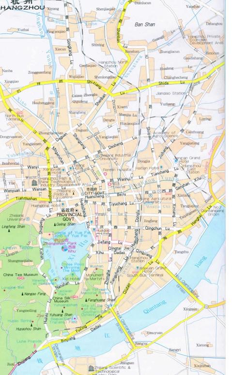 City Guide Hangzhou Municipality Zhejiang China