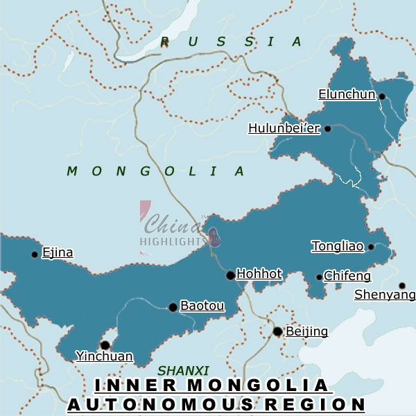 Inner Mongolia,a provincial-level division in North China